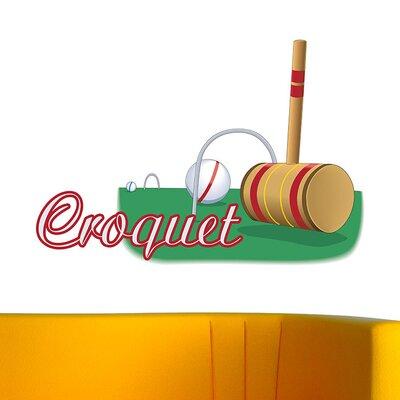 Graz Design Wandsticker Croquet, Schläger