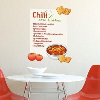Graz Design Wandsticker Chilli con Carne, Tomaten