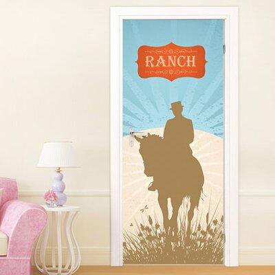 Graz Design Türaufkleber Ranch, Pferd