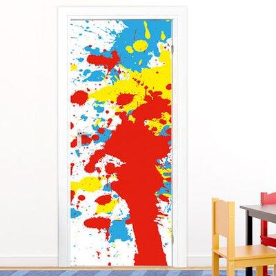 Graz Design Türaufkleber Farbklecks, Farben