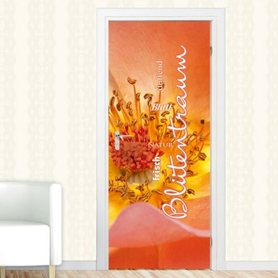 Graz Design Türaufkleber Blütentraum