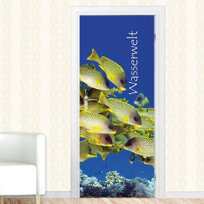 Graz Design Türaufkleber Wasserwelt
