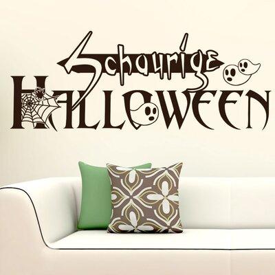 Graz Design Wandtattoo Schaurige Halloween, Geist