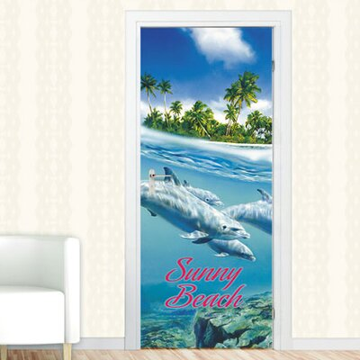 Graz Design Türaufkleber Sunny Beach