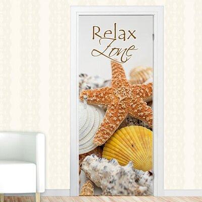 Graz Design Türaufkleber Relax Zone