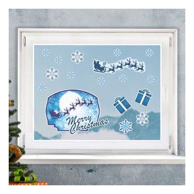 Graz Design Glastattoo Merry Christmas, Geschenke