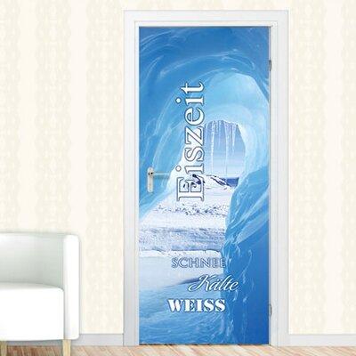 Graz Design Türaufkleber Eiszeit, Schnee, Kälte