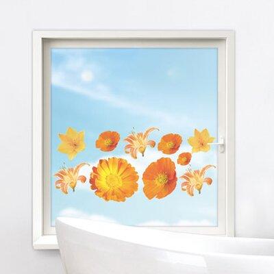 Graz Design Glastattoo Blüten Gerbera