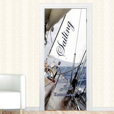 Graz Design Türaufkleber Sailing, Yacht