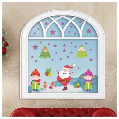 Graz Design Glastattoo Weihnachten, Kinder, Sterne