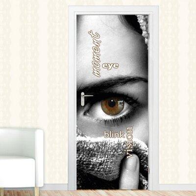 Graz Design Türaufkleber Moment, Eye