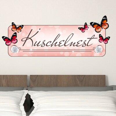 Graz Design Wandsticker Kuschelnest