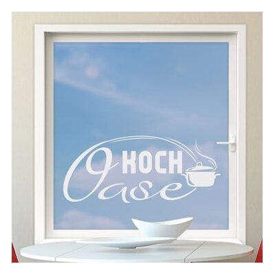 Graz Design Glastattoo Koch-Oase