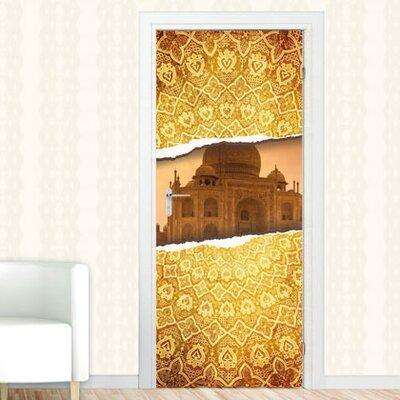 Graz Design Türaufkleber Taj Mahal, Ornamente