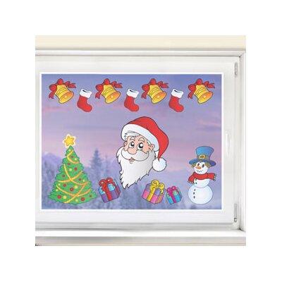 Graz Design Glastattoo Weihnachten, Glocken, Geschenke