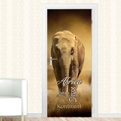 Graz Design Türaufkleber Africa, Elefant