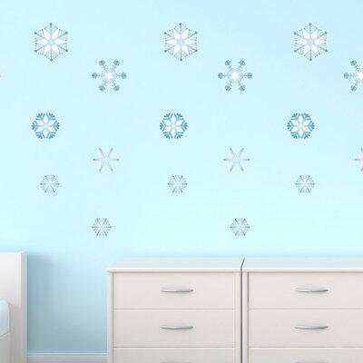 Graz Design Wandsticker-Set Set Eisblumen