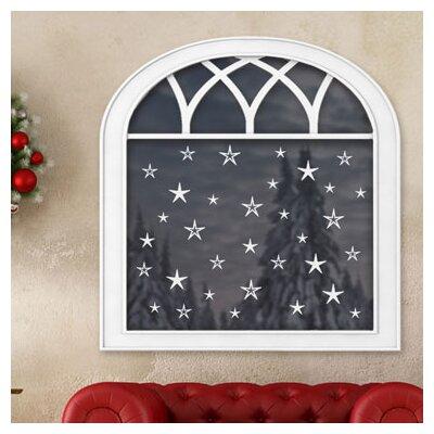 Graz Design Glastattoo Weihnachten, Sterne