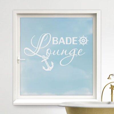 Graz Design Glastattoo Bade-Lounge