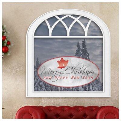 Graz Design Glastattoo Merry Christmas, Happy New Year