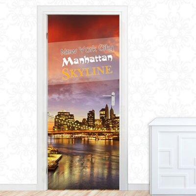 Graz Design Türaufkleber New York City, Skyline