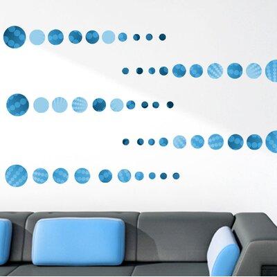 Graz Design Wandsticker-Set Kreis Polka Dots
