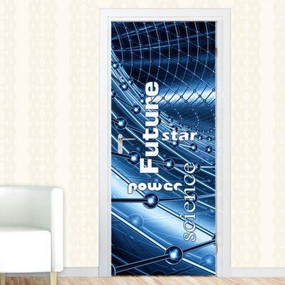 Graz Design Türaufkleber Future, Power, Science