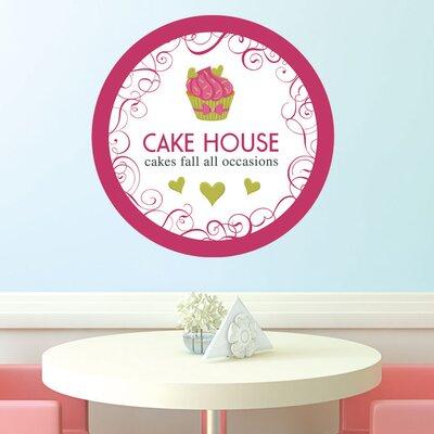 Graz Design Wandsticker Cake House, Muffin