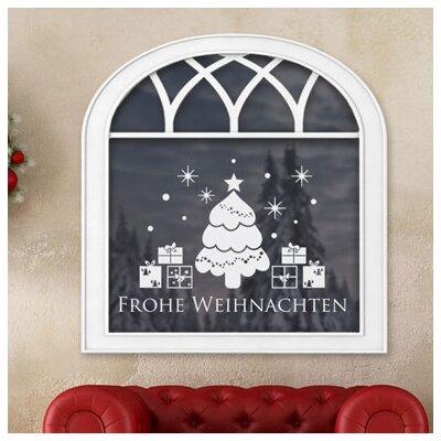 Graz Design Glastattoo Frohe Weihnachten
