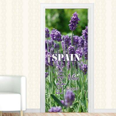 Graz Design Türaufkleber Spain, Wein, Genuss