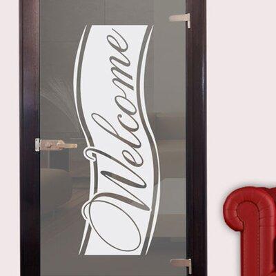 Graz Design Glastattoo Welcome, Linie