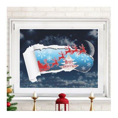 Graz Design Glastattoo Merry Christmas, Schnee