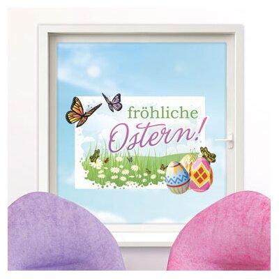 Graz Design Glastattoo Fröhliche Ostern