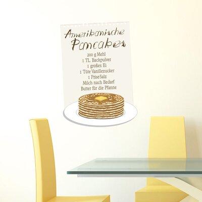 Graz Design Wandsticker Amerikanische Pancakes