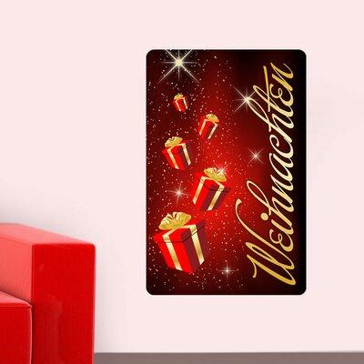 Graz Design Wandsticker Weihnachten, Geschenke