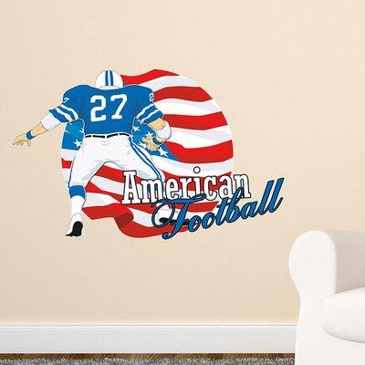 Graz Design Wandsticker American Football