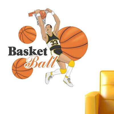 Graz Design Wandsticker Basketball, Spieler