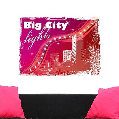 Graz Design Wandsticker Big City lights