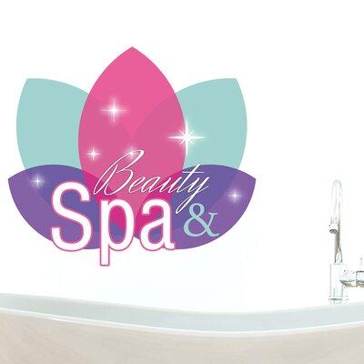 Graz Design Wandsticker Beauty & Spa, Blätter