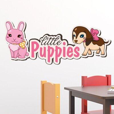 Graz Design Wandsticker Little Puppies