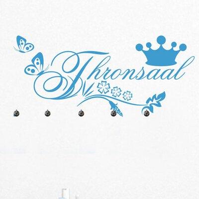 Graz Design Garderobenhaken Thronsaal, Krone
