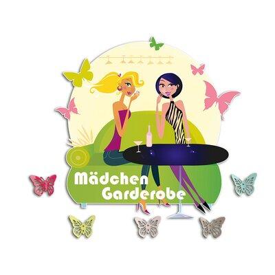 Graz Design Garderobenhaken Mädchen Garderobe