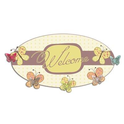 Graz Design Garderobenhaken Welcome, Falter