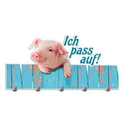 Graz Design Garderobenhaken Schwein
