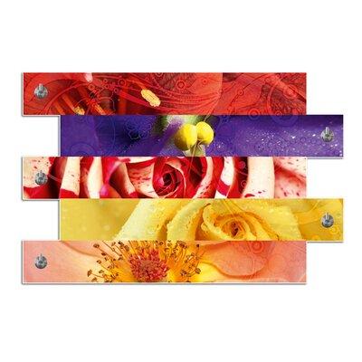 Graz Design Garderobenhaken Blumen
