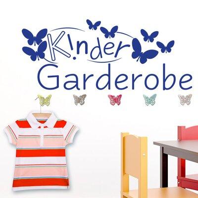Graz Design Garderobenhaken Kindergarderobe