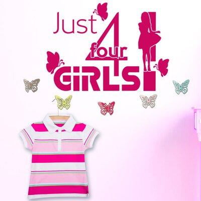 Graz Design Garderobenhaken Just 4 girls, Falter
