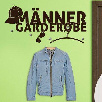 Graz Design Garderobenhaken Männer