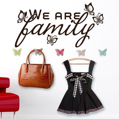 Graz Design Garderobenhaken We are Family, Falter