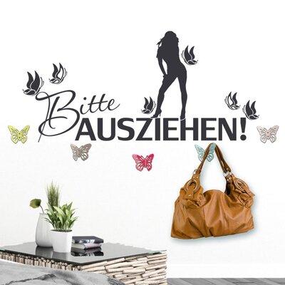 Graz Design Garderobenhaken Bitte ausziehen